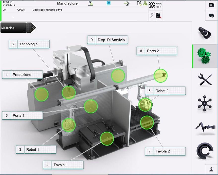 ambiente 3D programmazione ArtCut